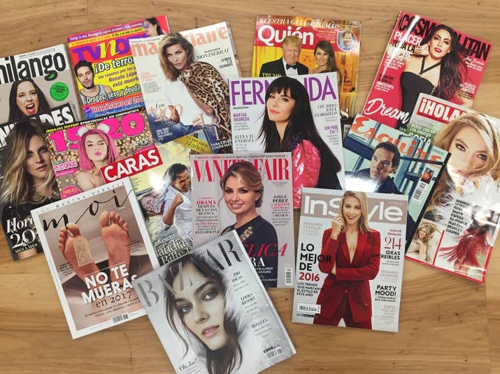 Ten of these 15 magazines had a Mexican person on the cover, but none of