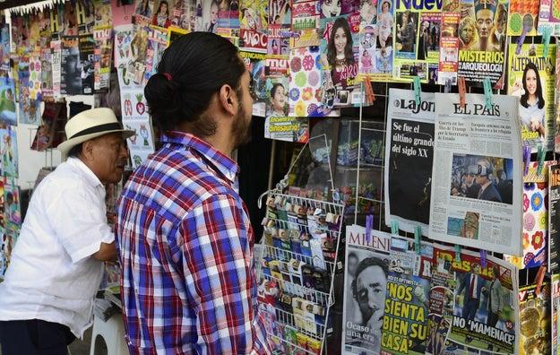 Los medios no parecen reflejar la realidad de México.