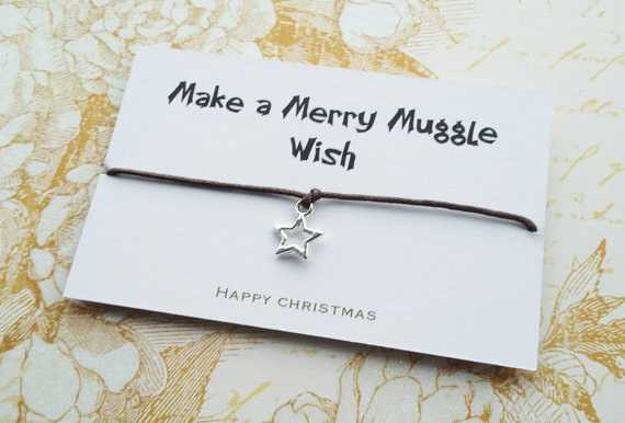 A wish string bracelet that gives any mere Muggle a spark of magic.