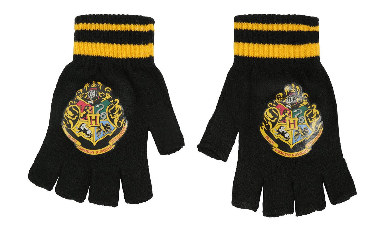 Fingerless gloves that let you show pride for your alma mater.