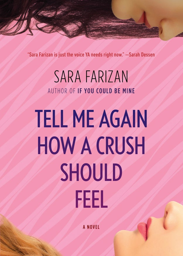 And as far as her own books, Sara recommends Tell Me Again How A Crush Should Feel.