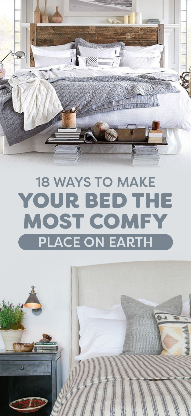 how to make your bed comfortable buzzfeed