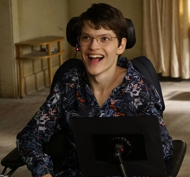 When Speechless star Micah Fowler casually made sitcom history.