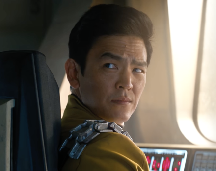 When Sulu became the first clearly LGBT main character in Star Trek's 50-year history.