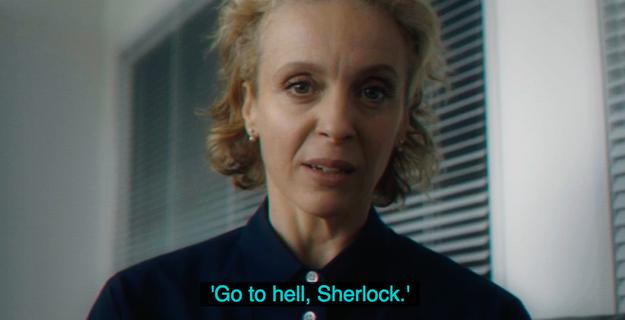 Шерлок - 4 сезон 1 серия - что сказала Мэри