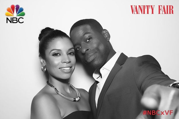 Brown and his TV wife Susan Kelechi Watson (Beth Pearson) are really something else.