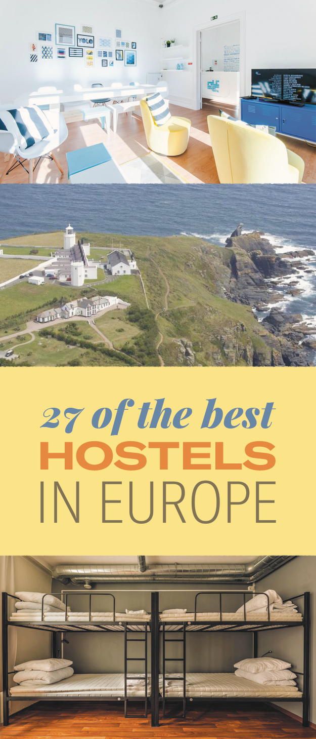 27 Of The Best Hostels In Europe