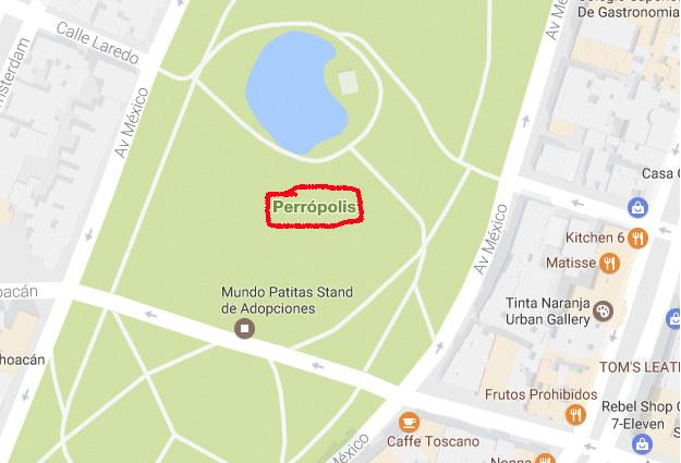 ¿Parque México o Perrópolis?