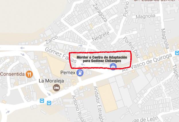 """Santa Fe, también conocido como Mordor, también conocido como el """"Centro de Adaptación para Godínez Chilangos""""."""