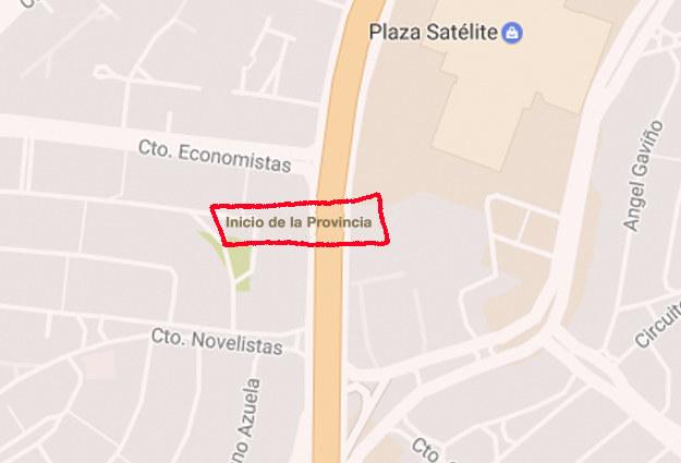 """Si somos neta, Ciudad Satélite sería el """"Inicio de la Provincia"""", donde están todos los cuates de Chabelo."""