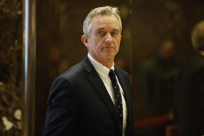 Robert F. Kennedy Jr. at Trump Tower on Tuesday.