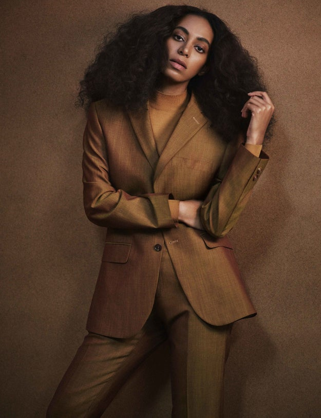 Solange spends A LOT of time on the internet.