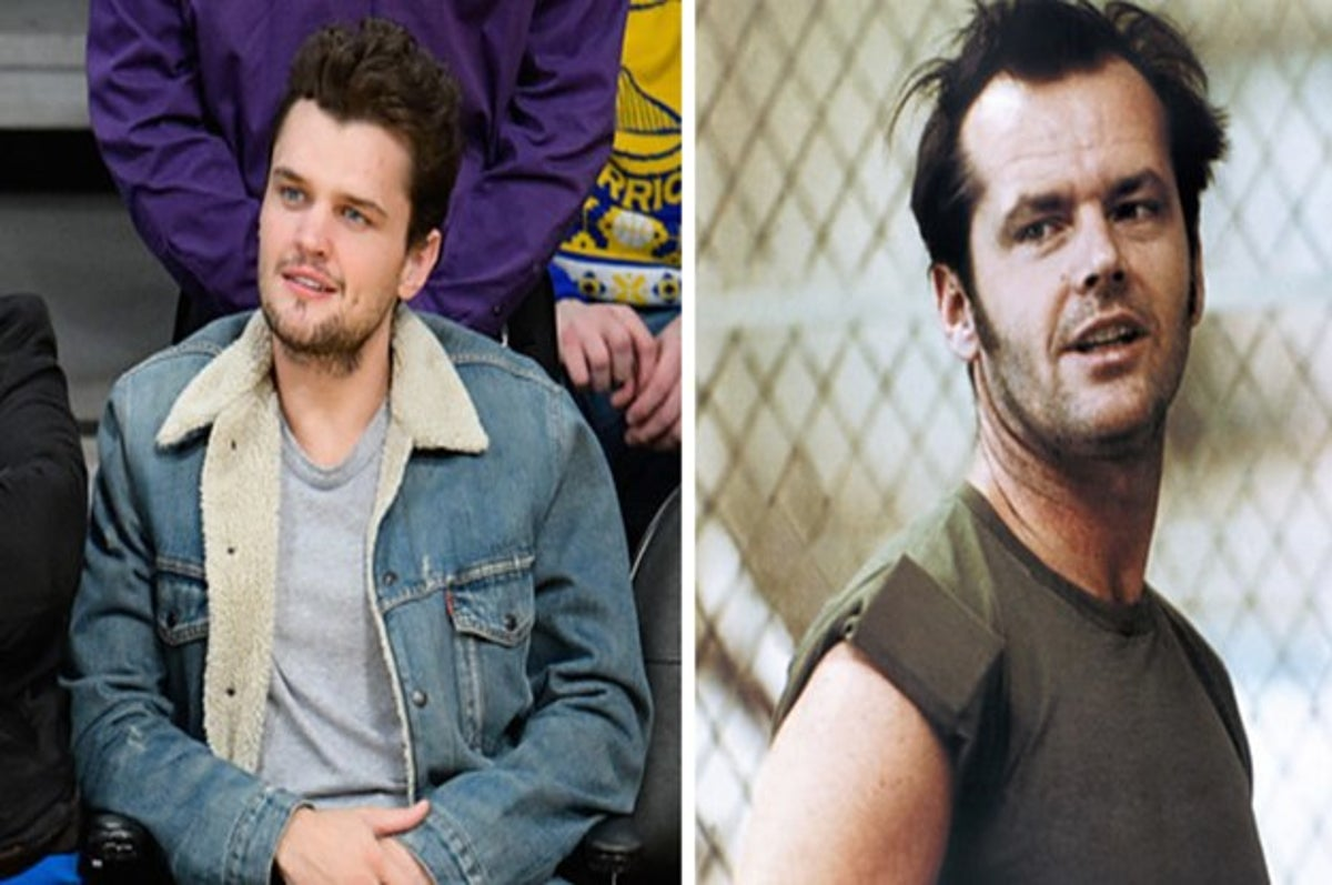 Fyi Jack Nicholson Has A Hot Son Jack nicholson, 81, sports a fuller figure as he joins his son ray, 26, for lebron james' l.a. fyi jack nicholson has a hot son