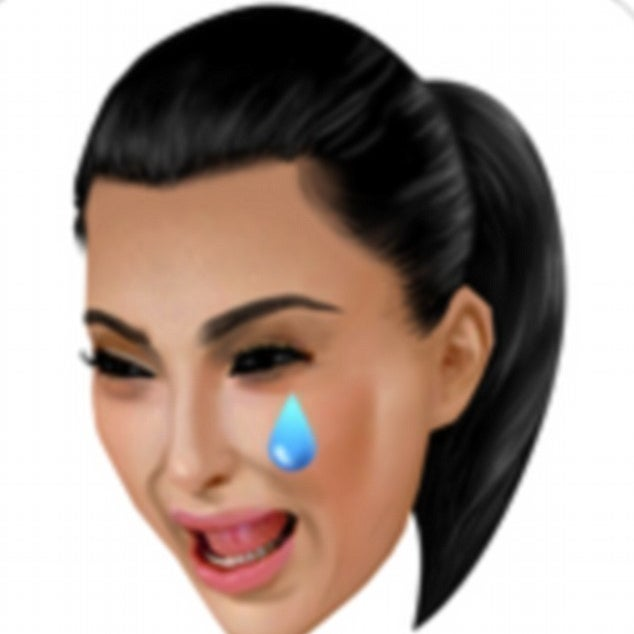 People Are Inspired By The Fact That Kanye Has A Crying Kim Emoji In