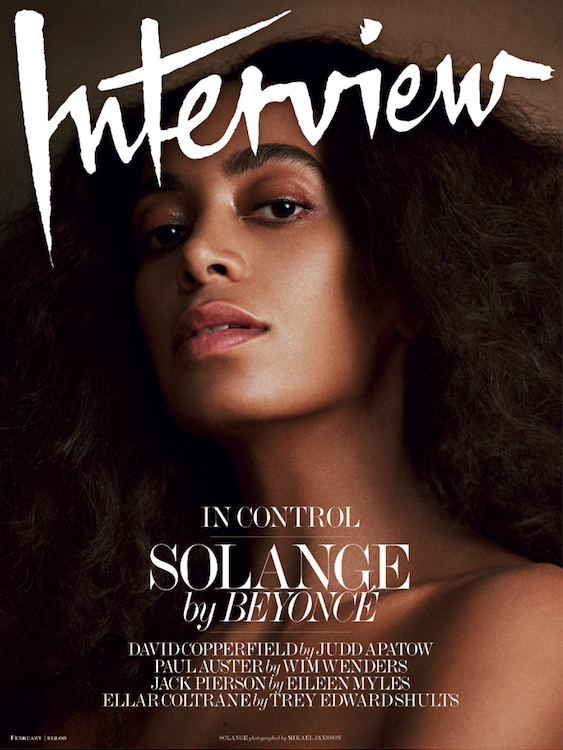 For the first time ever, the famously private Knowles sisters let us in on a conversation between them for Interview magazine. In the article, they talk about Solange's hit album A Seat at the Table, lessons from their parents, The Real Housewives of Atlanta, and more.