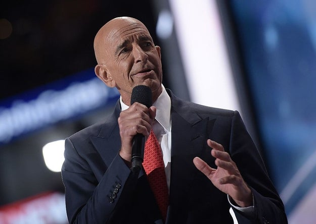 "Inauguration planner Tom Barrack told reporters on Tuesday that Trump's ceremony will feature a ""soft sensuality."""