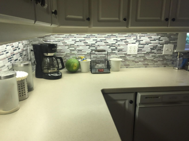 Add a new tile backsplash to give your kitchen (or bathroom) that gorgeous custom look.