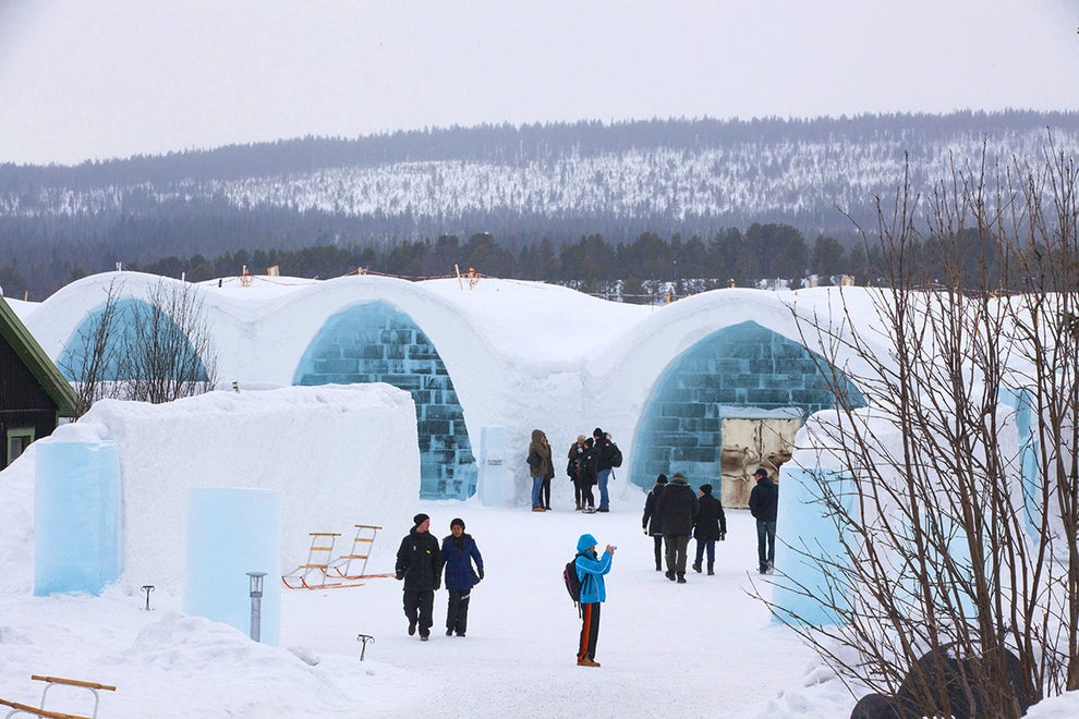 The Icehotel Sweden in Jukkasjärvi, Sweden