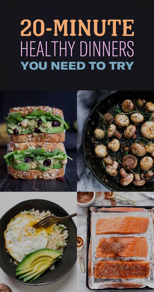 20 minute healthy dinner ideas