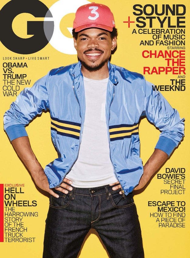 Chance the Rapper is already having a great 2017 and we're barely two weeks into January.