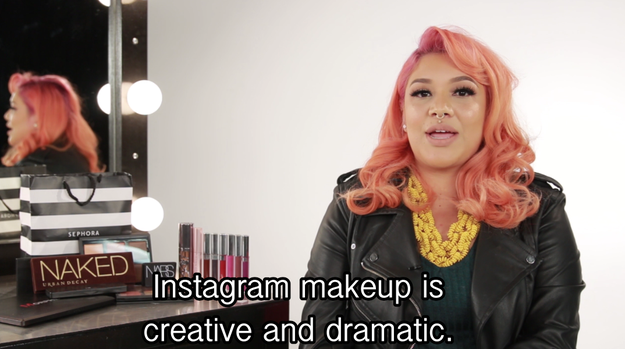 It's OK though, 'cause Nicole, a makeup guru, would prep these ladies for the week to come.