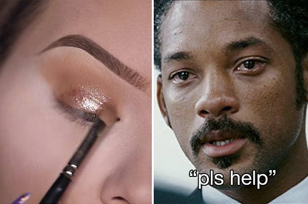 21 Things That Are Too Real For People Who Suck At Makeup