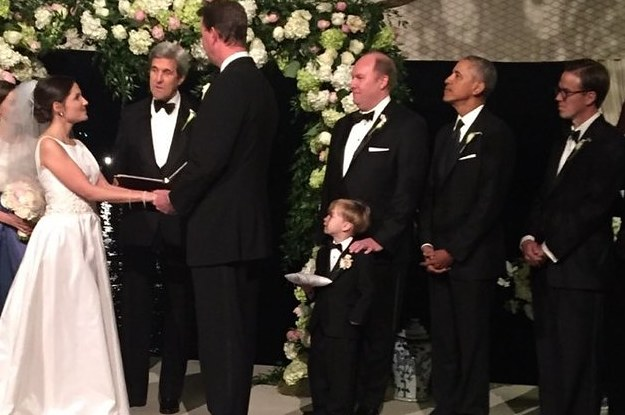President Obama Was Just A Groomsman In His Friends Wedding