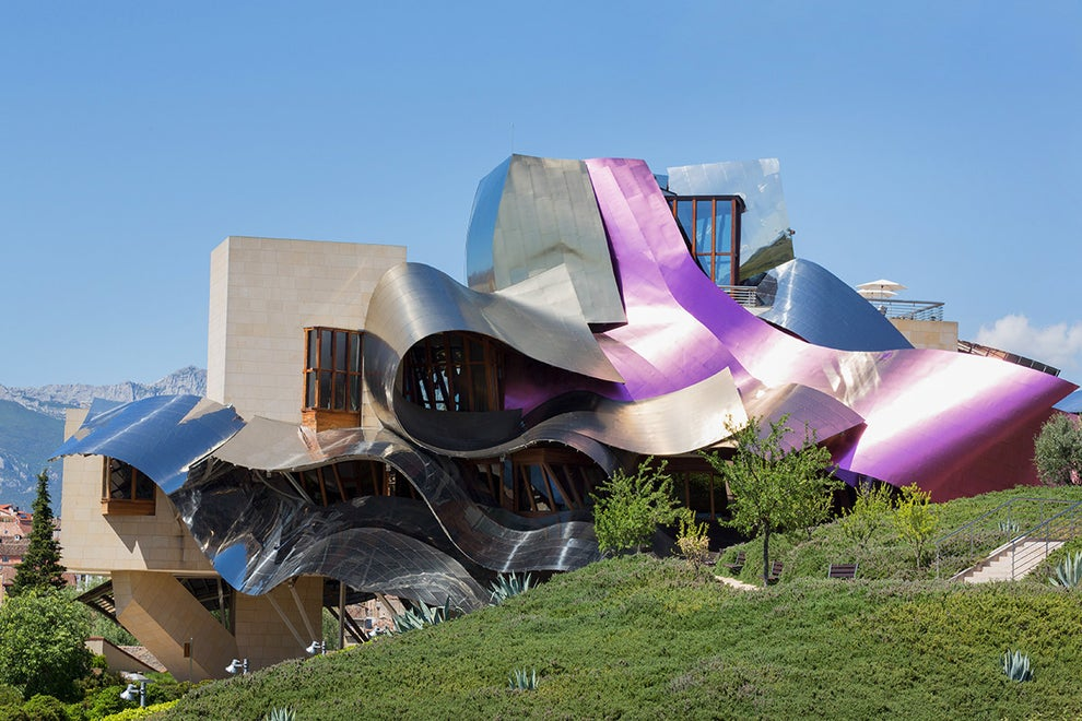 Marqués de Riscal Vineyard Hotel in Elciego, Spain