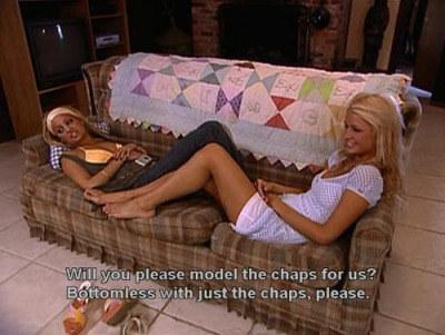 When Nicole demanded a proper fashion show: