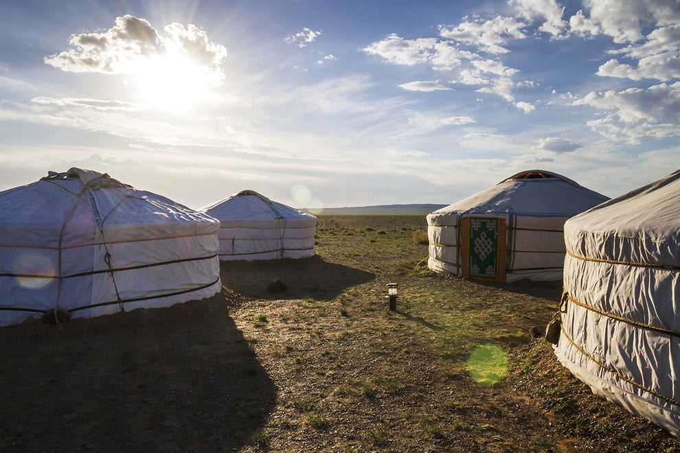 The Gobi Discovery II Ger Camp Near Ulaanbaatar, Mongolia