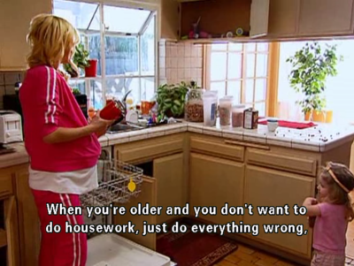 And finally, when Paris offered these sage words of advice to her younger housemate: