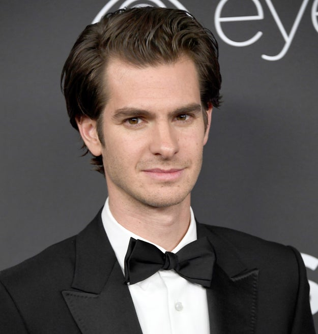 This is Andrew Garfield. He's a human man with lips.