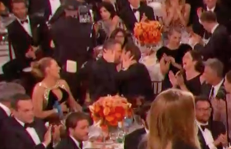 Like most human men with lips, he assumedly uses those lips for lots of things — talking, eating, kissing... normal lip functions. But unlike most human men, he was recently lucky enough to use his lips to make out with Ryan Reynolds at the Golden Globes.