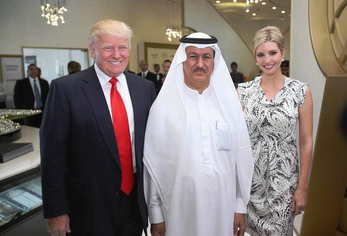 Donald Trump, Hussain Sajwani, and Ivanka Trump