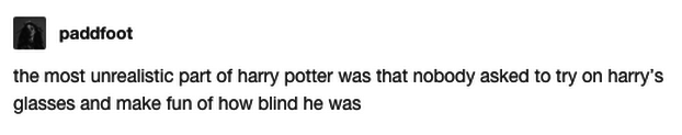 Harry Potter being wrong: