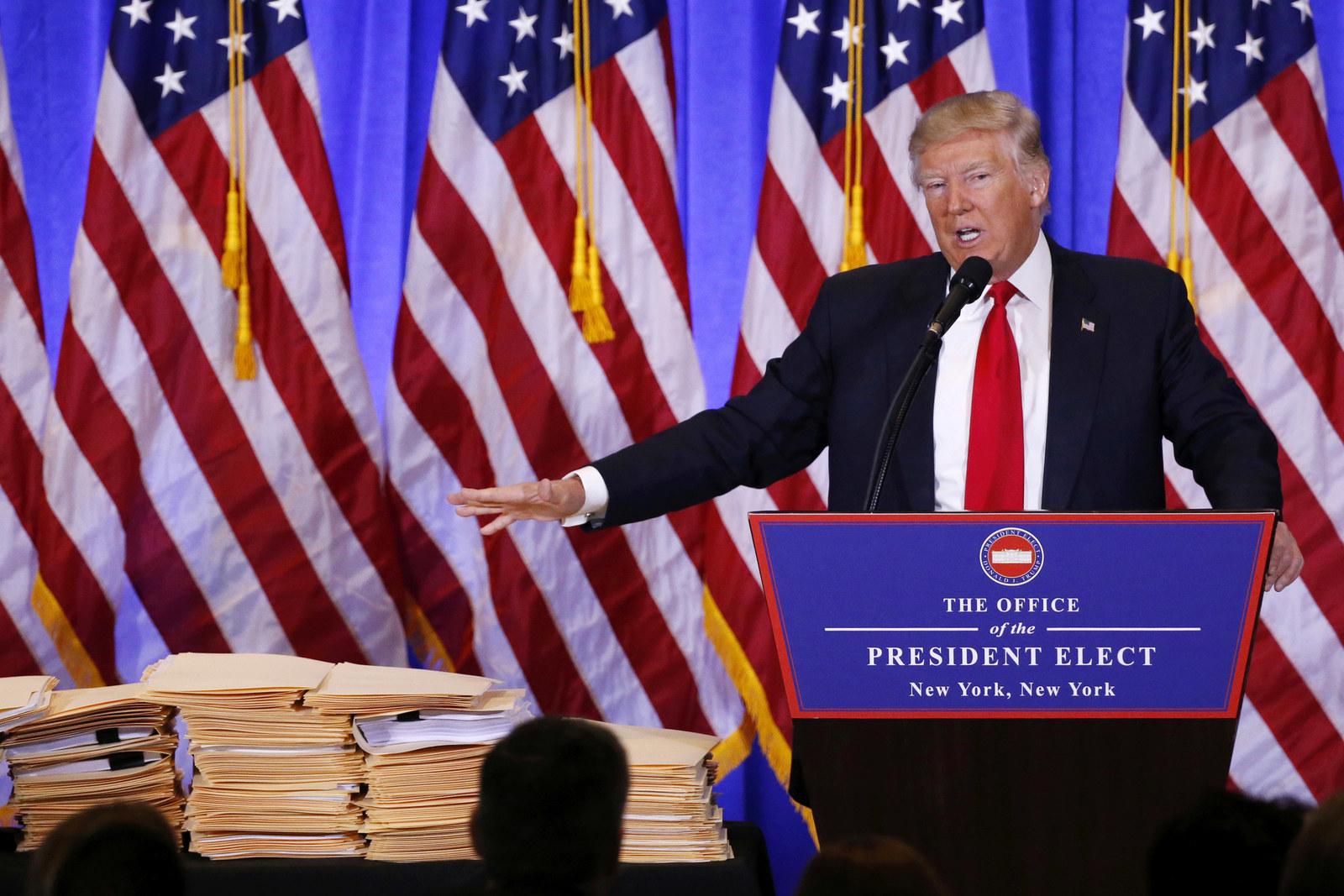 Donal Trump tells CNN Reporter