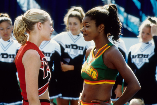 Gabrielle Union, who played Isis, the captain of the Clovers cheerleaders, was also nearly cast in Sugar & Spice.