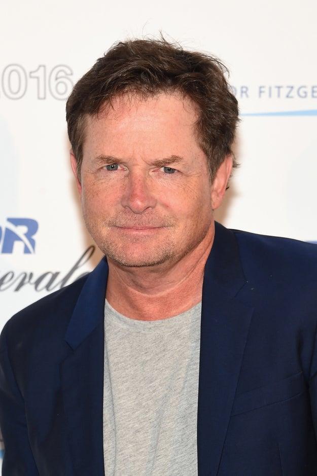 Michael J. Fox nació como Michael A. Fox.