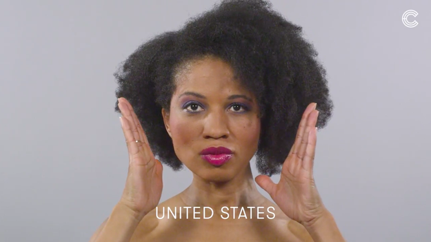In the United States, the colorful makeup was a sign of the times.