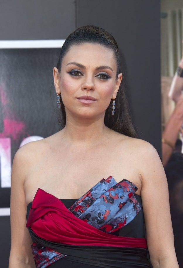Mila Kunis nació como Milena Kunis.