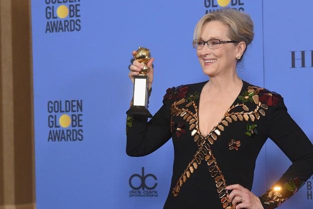 Meryl Streep nació como Mary Streep.