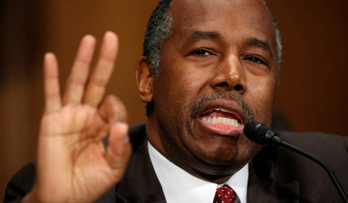 Dr. Ben Carson testifies before the Senate Banking, Housing and Urban Affairs Committee on his nomination to be Secretary of the U.S. Department of Housing and Urban Development.