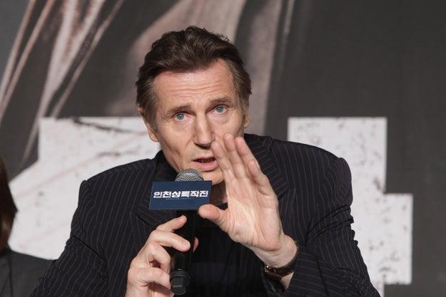 Liam Neeson nació como William Neeson.