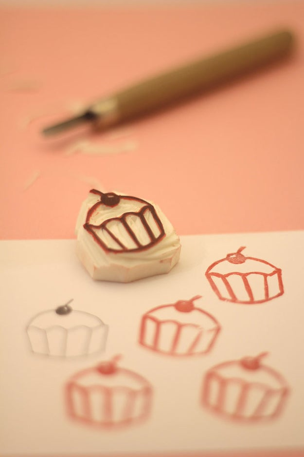 It also makes precise peeling and carving easier, so you can knock off your favorite stamps for cheap.