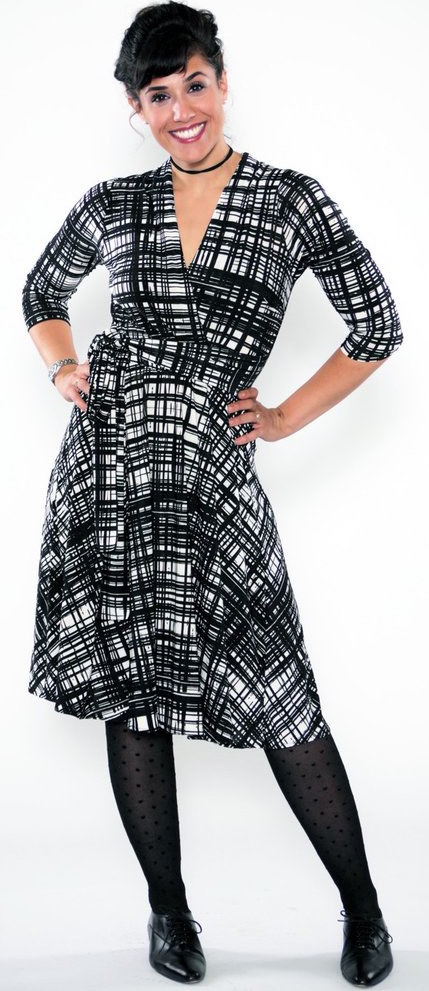 d514a6a420586 Karina Dresses for throw-on-and-go wrap dresses in a variety of lengths and  sizes.