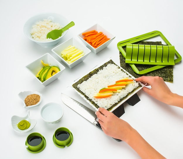 A sushi-making kit that'll help you roll like a professional.