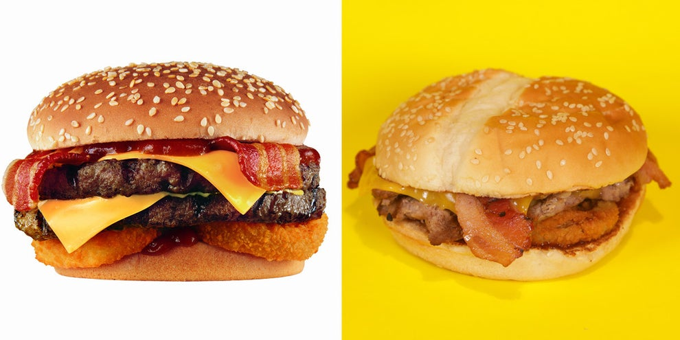Western Bacon Thickburger: