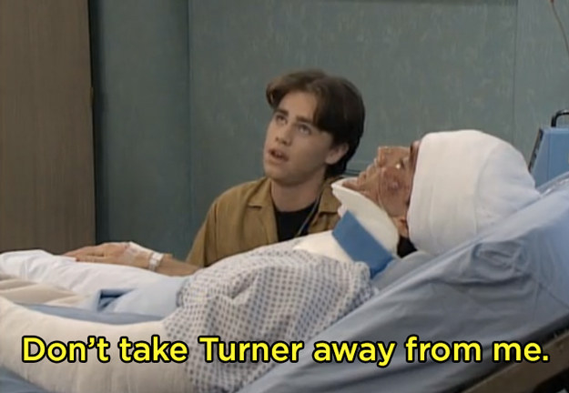 When Mr. Turner is in a motorcycle accident, and Shawn is afraid he's going to lose him.
