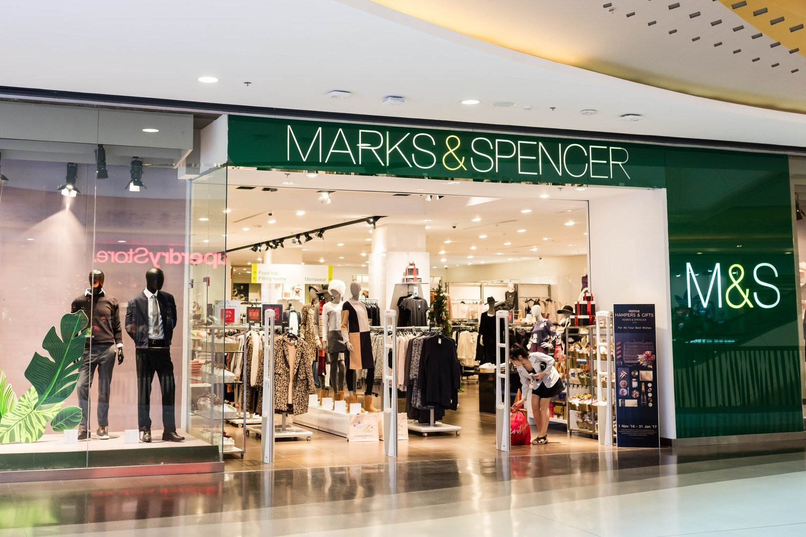 marks and spencer tows matrix