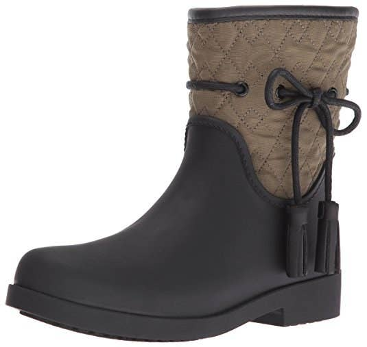 f4908f110fb6 Trudge around in these detailed Jessica Simpson boots when you require a  step up from OG wellies.